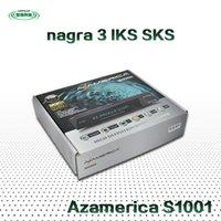 al por mayor azamerica-Neswest 1080p HD DVB-S2 receptor de TV de Azamerica S1001 Con IKS cuenta SKS Sourth América TV vía satélite STB