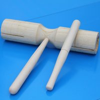 Wholesale No direct channel double cylinder large percussion instrument Teddy Orff wooden instruments