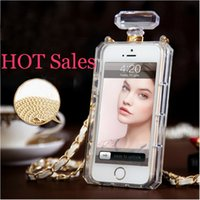 perfumes - Luxury Perfume Bottle Case For iphone S s plus samsung S3 S4 S5 note note protective shell case