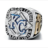 american kansas - New Arrival MLB Kansas City Royals American League Championship Rings Customized Sport Rings for fans as gift
