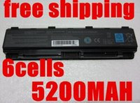 Wholesale 5200MAH laptop battery for TOSHIBA Satellite Pro C800 C800D C805 C805D C840 C840D C845 C845D C850 C850D C855 C855D C870 C870D