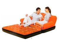 flocked inflatable sofa bed - Observing BESTWAY new inflatable sofa bed sofa flocking tuobu