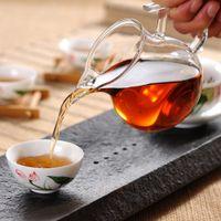ball drinking glasses - Brand New ml Handmade Heat Resistant Glass Cup Tea Pitcher Cups Teapot Floral Tea Sets Drink Utensils Ball Shape