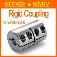 Wholesale Cheapest Motor Shaft RM clamping Coupler D25 L40 x8 x10 x8 x10mm Rigid Coupling CD004