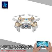 Wholesale Original Cheerson CX W CH Axis Gyro Wifi RC Micro FPV Quadcopter RTF Mini Drone With MP Camera