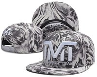 hats and caps - 2014 new fashion Tiger with TMT letter gray snapback baseball hats and caps for men women adjustable bone sports hip hop sun hat