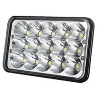 achat en gros de projecteurs 12v hid-Lampe de travail led light bar 6inch 45W LED WORK LIGHT BAR SPOT REMPLACER HID DRIVING HEADLAMP OFFROAD 12V 24V