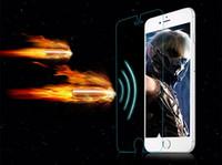 Explosión sensor ultra fino prueba Protector de pantalla de alta calidad vidrio templado para el iphone 6S 4.7 Plus 5.5