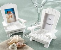 adirondack chairs - quot Beach Memories quot Miniature Adirondack Chair Place Card Holder RWF PC