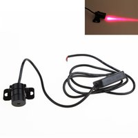 Wholesale Newest Car Laser Tail Fog Light Rear end Anti Collision Rearing Warning Light Safety Lamp CLT_318