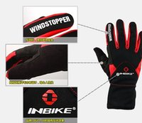 Wholesale 2016 Inbike if966 autumn and winter thick bicycle gloves ride gloves windproof gloves slip resistant thermal gloves