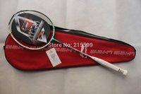 Wholesale N90 Li Ning badminton rackets N90 IV high end nano carbon badminton racquet free shipment A5 A5