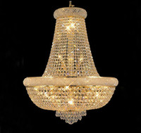 Wholesale Gold Crystal Chandelier light Fixture Modern Chrome Crystal Chandeliers Living Room Chandeliers Guaranteed