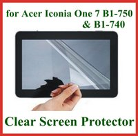 acer lcd screens - 5pcs Ultra Transparent LCD Screen Protector for Acer Iconia One B1 B1 Protective Film No Retail Package