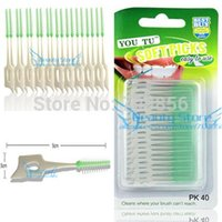 Interdental Brush - 2014 Detal Elasticity Massage Teeth Brush Soft Picks Oral Hygiene Flexibility Interdental Brush for Teeth Health Care