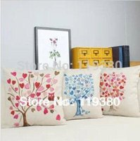 other love chair - Love tree set thicken cotton linen throw pillow cushion cover for sofa couch chair car home decor excluding core quot HS3354