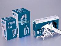 Wholesale Japan Made Anest Iwata W Gravity Type Paint Spray Gun mm W Air Brush SprayerPaint Tools Pnuematic Tool