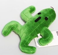 Wholesale Final Fantasy Cactus Cactuar Plush Toy Green Plant Stuffed Soft Dolls With Tag Children Christmas Gift cm Approx