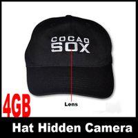 Wholesale 4GB Hat Cap Mini Hidden Camera DVR with remote control