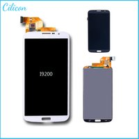 Wholesale LCD Assembly Display Touch Screen Digitizer Replacement For Samsung Galaxy Mega i9200 i9205 i527 blue white