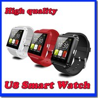Wholesale Smart Watch U8 Bluetooth Altimeter Anti lost inch Wrist Watch U Watch For Smartphones iPhone Android Samsung Sony HTC Cell Phones