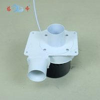Wholesale 20w mini DC V steel smoke gas hot air exhaust suction duct draught fan centrifugal blower