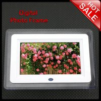 digital photo frames - 7 Inch Multi functional Digital Photo Frame With DC Adapter And Remote Control Resolution