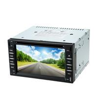 "Cheap Universal 6"" 2 Din Car DVD Player GPS Navigation Bluetooth USB SD Radio MP4 MP5 Support WIFI 3G HD Camera Parking Video Input"