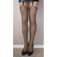 belts online - Fashion Design Womens Stocking Girl Industrial Fishnets Stockings Garter belt Legging Hot Online Cheap Wear for Women