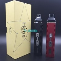 herbal vaporizer - Titan kit Dry herbal Vaporizer Electronic Cigarette mAh Battery Vaporizer Pen with LCD Display Hebe Titan II Dry Herb Kit DHL FREE