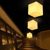 Wholesale Modern ITRE Cubi Ceiling Light Italy design Pendant lamp Suspension Lamp Ufficio Stile cm cm cm lighting satin glass dinning room