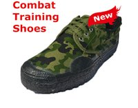 Wholesale Outdoor Camouflage Combat Training Shoes Men Canvas Shoes Safety Protective Shoes Military Equipment Climbing Hiking Shoes