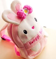 best choice cloth - two color for choice rubbit backpack cute kawaii for child best gift for kids cartoon plush toys
