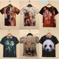 Wholesale Summer Women men Clothing cheaper creative D T Shirts hip hop shirt Sexy Crop Tops