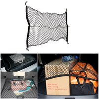 antenna mesh - GPS Car Trunk Rear Tail Nylon Elastic Nylon Mesh Cargo Net With Hooks for Car Passenger Car BusBHU2
