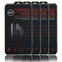 Wholesale Retail Box mm Explosion Proof Film D Tempered Glass Screen Protector For iphone plus S