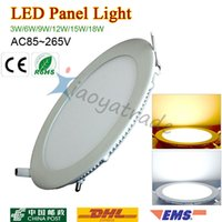 Wholesale Brand LED Panel light V W W W W W W Led Ceiling Recessed Grid Downlight Ultra thin Lamp SMD Lighting