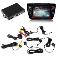 Wholesale Car Parking Sensors Video Car Backup Radar System Kits New Durable Car Accssories Professional video car parking radar system