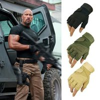 Wholesale Blackhawk Hell Storm Usa Special Forces Tactical Gloves Slip Outside Riding Fighting Half finger Gloves