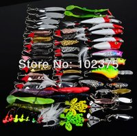 Cheap quality Mixed soft baits Best cheap fishing lures set