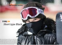 Wholesale Winter Neoprene Neck Warm Half Face Mask Winter Veil Windproof For Sport Bike Bicycle Motorcycle Ski Snowboard Outdoor Mask Men Women