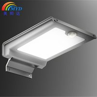 Cheap 2016 New Solar Powered 46 LED Wall Lamp Motion Sensor Garden Lights for Home Use Residential Lighting