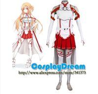 art making games - Hot Sale Sword Art Online Asuna Yuuki cosplay costume Custom made Halloween carnival Anime cosplay costume