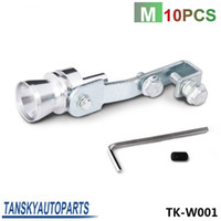 Wholesale Tansky Size M Turbo Sound Exhaust Muffler Fake Blow Off Valve BOV Simulator Whistler TK W001
