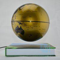Wholesale Earth day gift inch Antigravity Magnetic Levitation Floating Globe the originality desktop decor books shape base green world