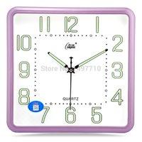 bell pocket watch - Compas living room wall clock watch luminous mute creative minimalist bedroom office quartz pocket watch wall clock bell