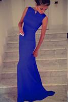 Wholesale 2016 Black Elegant Sleeveless Maxi Long Evening Dress Women Gown Casual Dresses Elegant Formal Party Evening Dress