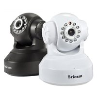 Wholesale Sricam Wireless HD IP Camera Night Vision Internet Surveillance Camera NVIE order lt no track