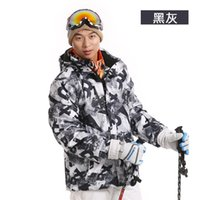 Wholesale Men winter outdoor ski suit skiing clothing thermal casual cotton padded jacket men dress