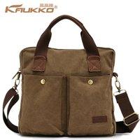 Wholesale Canvas bag Messenger bag men s business bags canvas bag diagonal package Korean fashion men s shoulder bag